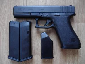 The Glock 17 is one of the most common weapons carried for duty and self defense
